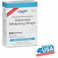 Equate Xtreme Whitening Wraps 7 Day System
