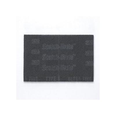 3M 64935 7448Pro Scotchbrite Scotch-Brite Pro Hand Pads, Ultra-Fine Grade, 6 In X 9 In