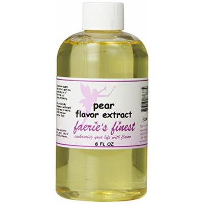 Faeries Finest Flavor Extract, Pear, 8.68 Ounce