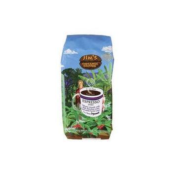 JIMS ORGANIC COFFEE COFFEE ESPRESSO JIMBO, 12 OZ