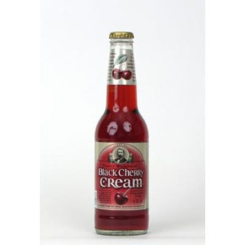 Henry Weinhard's BLACK CHERRY CREAM SODA - Henry makes better soda than beer, 12-Ounce Glass Bottle (Pack of 12)