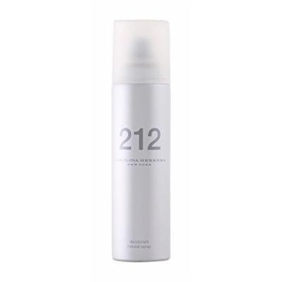 212 By Carolina Herrera For Women. Deodorant Spray 5 Ounces