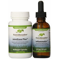 Native Remedies InflammaGo and JointEase Plus ComboPack