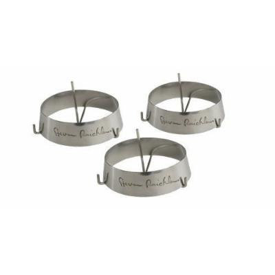 Steven Raichlen Best of Barbecue Stainless Steel Grilling Ring with Spike Set