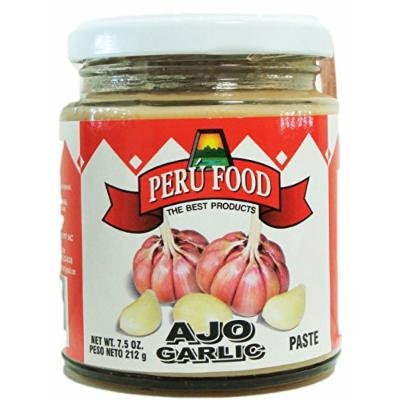 Peru Food Garlic Paste - Ajo en Pasta, 7.5 Oz