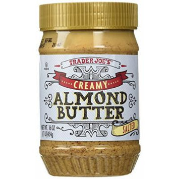Trader Joe's Creamy Almond Butter Salted