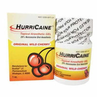 Hurricane Gel, 20%, Cherry, 1oz Pack of 2