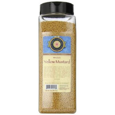 Spice Appeal Yellow Mustard Whole, 25 Ounce