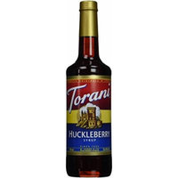 Torani Huckleberry Syrup, 750 mL