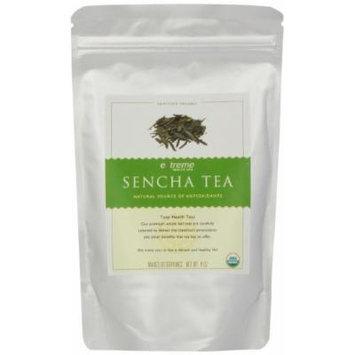Extreme Health USA Extreme Health's Organic Sencha Tea, Total Health Loose Leaf Tea, 4-Ounce Pouches (Pack of 2)