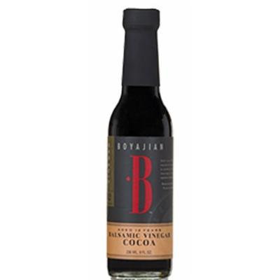 Boyajian Cocoa Balsamic Vinegar 8 Oz. Bottle