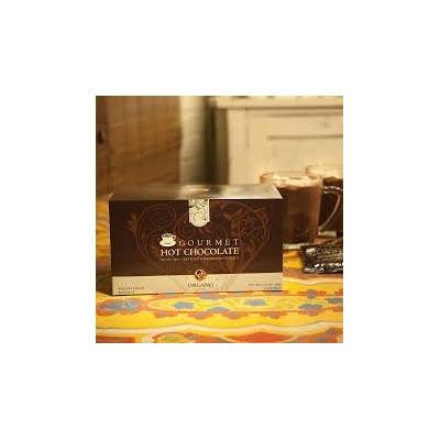 6 Boxes Organo Gold Gourmet Hot Chocolate with Ganoderma Lucidum Extract + Free 6 Sachets Organo Gold Hot Chocolate