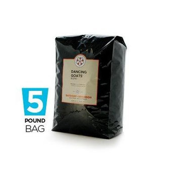 Batdorf & Bronson Dancing Goats Blend, Whole Bean Coffee, 5-Pound Bag