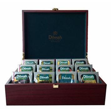 Dilmah, Luxury Wooden Presenter, Tea Chest, Tea Included (Gourmet 12 slot)