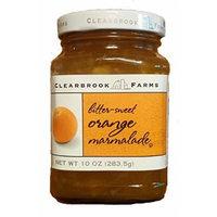 Clearbrook Farms Bitter-Sweet Orange Marmalade 10oz jar