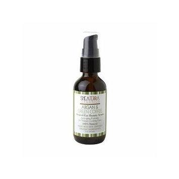 Shea Terra Organics Argan & Green Coffee Around-Eye Beauty Serum 2 oz (59 ml)