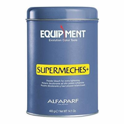 ALFAPARF Supermeches Plus Powder Bleach for Extra Lightening, 14.1 Ounce