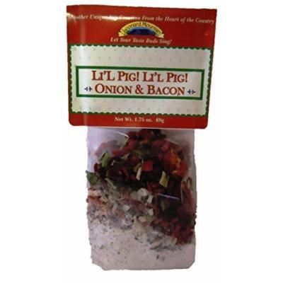 Leonard Mountain Li'l Pig! Li'l Pig! Onion & Bacon Veggie Toppers, 1.75 Ounce Box