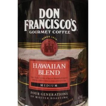 12oz Don Francisco's Gourmet Flavored Ground Coffee Hawaiian Blend, Medium, 1 Can per order