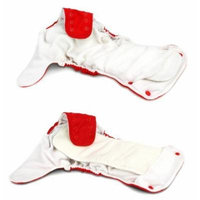 BabyKicks Basic Cloth Diaper Snap Closure, Meadow