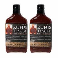 Rufus Teague's Award Winning BBQ Sauces - OU Kosher - Whiskey Maple, 16 oz. (2 Pack)