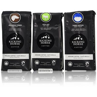 Kicking Horse Coffee Variety Pack, Ground, 3 Count