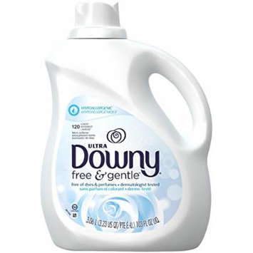 Downy Liquid Fabric Conditioner - 103 oz - Free & Gentle