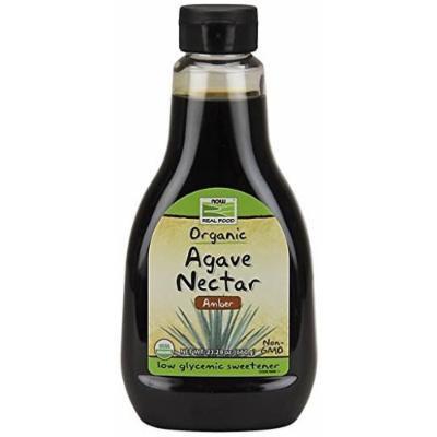 Amber Agave Now Foods 23.28 oz Bottle