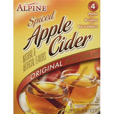 ALPINE Spiced Apple Cider Instant Drink Mix 2-Pack (8 pouches)