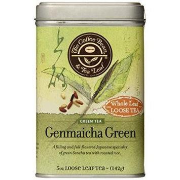 The Coffee Bean & Tea Leaf Genmaicha Japanese Sencha Green Tea, Toasty Full Flavor and Sweet Finish, 5-Ounce Loose Tea