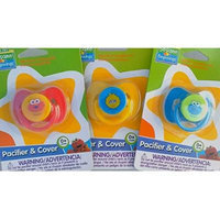 Sesame Street Pacifiers 3 pack -Elmo, Big Bird and Cookie Monster Pacifiers Value pack