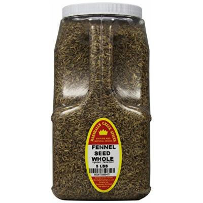 Marshalls Creek Spices Fennel Seeds Whole, XX-Large, 5 Pound