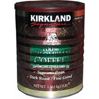 Kirkland Signature 100% Colombian Coffee, 3 Pound