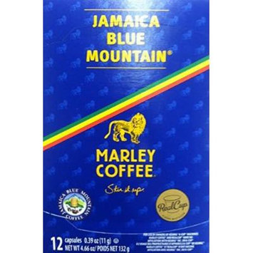 Marley Coffee, Jamaica Blue Mountain, Talkin Blues, Single Serve, K-Cup Coffee, 12 Count, 4.68oz Box (Pack of 2)