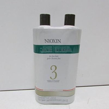 Nioxin System 3 Duo, two 1-ltr bottles