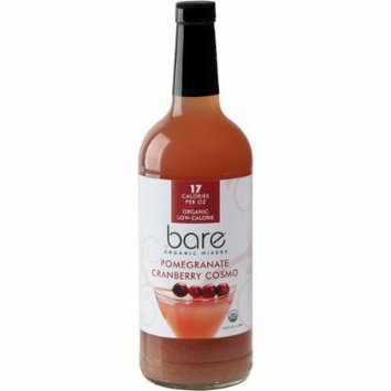 BARE ORGANIC MIXERS - POMEGRANATE-CRANBERRY COSMO - PACK OF 6
