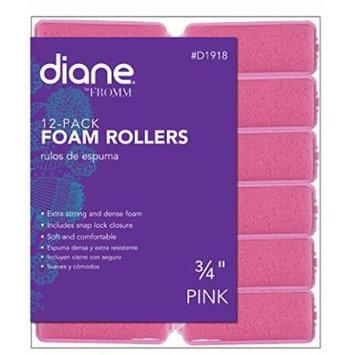 Diane Foam Rollers, Pink, 3/4