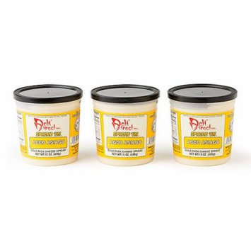 Wisconsin Cheese Spread - Aged Asiago (3 Pack of 15oz. Each Containers)