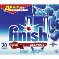 Reckitt Finish All-in-1 Gelpacs (Pack of 20)
