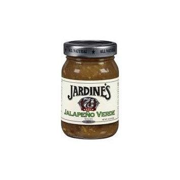 Jardine's 7J 7J Ranch Jalapeno Verde Hot Salsa 16oz Jar (Pack of 6)