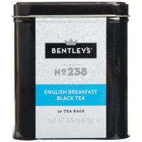 Bentley's Harmony Collection Tin, English Breakfast Black Tea, 50 Count