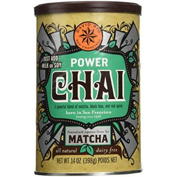 2 canisters of POWER Chai, 14oz.