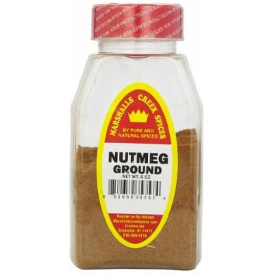 Marshalls Creek Spices Nutmeg Ground , 6 Ounce