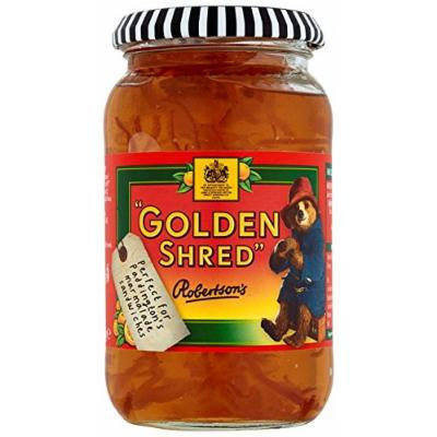 Robertsons Golden Shred Fine Cut Orange Jelly Marmalade 454 g (Pack of 6)