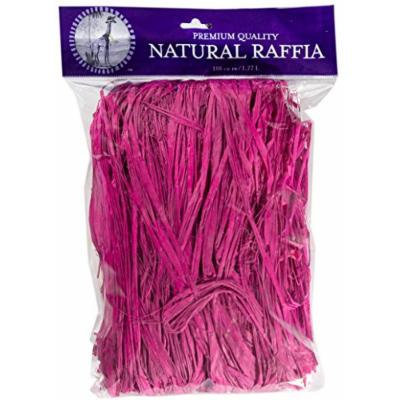 SuperMoss (30055) Raffia, Hot Pink, 8oz