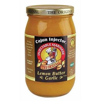 Cajun Injector Injectable Marinade Refill 16oz Glass Jar (Pack of 3) (Lemon Butter Garlic)
