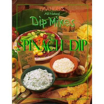 Lysander's SPINACH Dip Mix - SIX 1oz packets