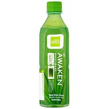 ALO - Original Aloe Drink Awaken Aloe + Wheatgrass - 16.9 oz. (Pack of 3)