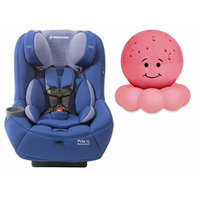 Maxi-Cosi Pria 70 Convertible Car Seat with Easy Clean Fabric and Pink Twilight On the Go Nightlight, Blue Base