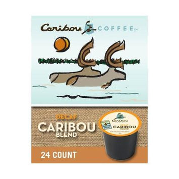 Caribou Coffee Decaf Blend (1 box of 24 K-Cups)